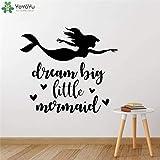 fancjj Big Little Mermaid Fototapete Room Home Art 57x51cm