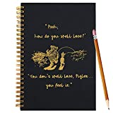 Slothoem Pooh How do spell love | Inspirational winnie the pooh Spiral Notebook/Journal | Motivationa Birthday graduation Gift for Best Friends/sisters