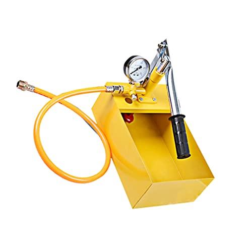 VILLCASE Bomba de Prueba de Presión Bomba Hidrostática de Aluminio para Sistemas de Riego de Red de Agua Mangueras de Incendios