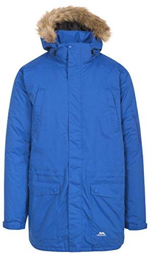 Trespass Jaydin Waterdichte regenjas, functionele jas, weerjack met afneembare capuchon voor heren