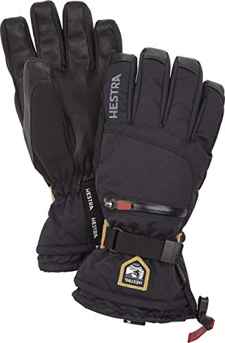 Hestra All Mountain CZone Glove - Waterproof, Versatile Glove for Skiing, Snowboarding and Mountaineering - Black - 9