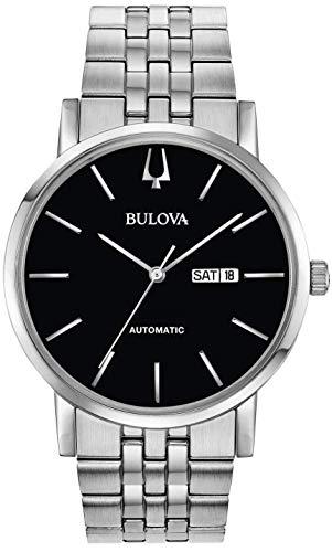 orologio solo tempo uomo Bulova Clipper elegante cod. 96C132