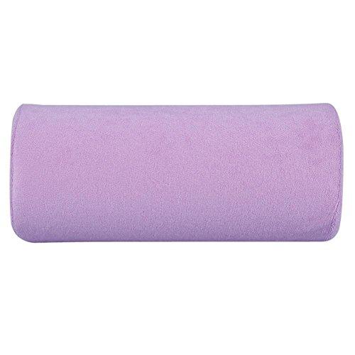 10 Farben Hand Cusion, Durable Salon Handauflage Kissen Abnehmbare Waschbar Nail Art Weichen Schwamm Kissen Armlehne Ausrüstung(violett)