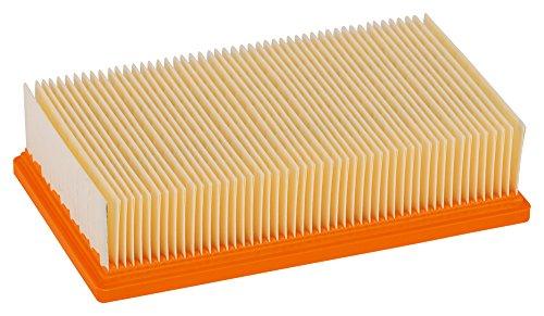 Bosch Professional Flachfaltenfilter, Zellulose, 6150 cm², 240 x 140 x 56 mm, 2607432033
