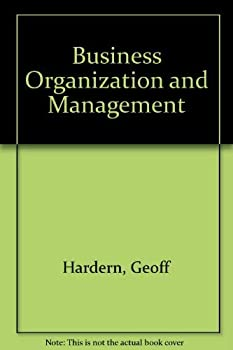 Paperback Business organisation and management (Philip Allan textbooks in business studies) Book