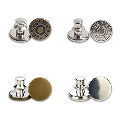 Amazon - 60% Off on Jean Button Pins, 12 PCS Jean Button Replacement