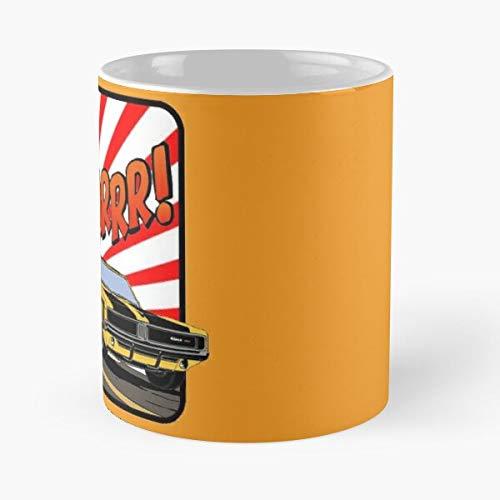 5TheWay Muscle Roaring Power Charger Burnout Car Dodge Roar Best 11 oz Kaffeebecher - Nespresso Tassen Kaffee Motive