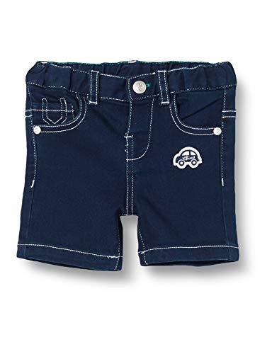 Chicco Baby-Jungen Pantaloncini Corti Denim Stretch Bimbo Shorts, Blau (Blu Jeans 088), 44 (Herstellergröße: 050)