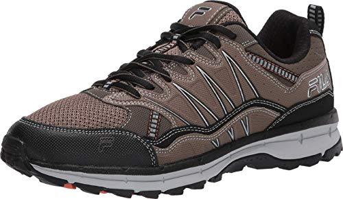 Fila mens Fila Evergrand Men's Trail Hiking Shoe, Walnut/Major Brown/Black, 12 US