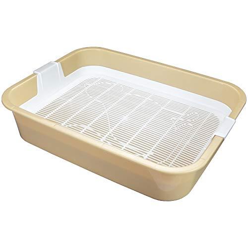 Primera bandeja de arena para gatos, perfecta para gatos o gatos, con filtro de limpieza, sin arena para gatos