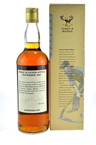 Rareza: Linkwood Whisky año 1939-54 anni - Gordon & MacPhail, 0.7l