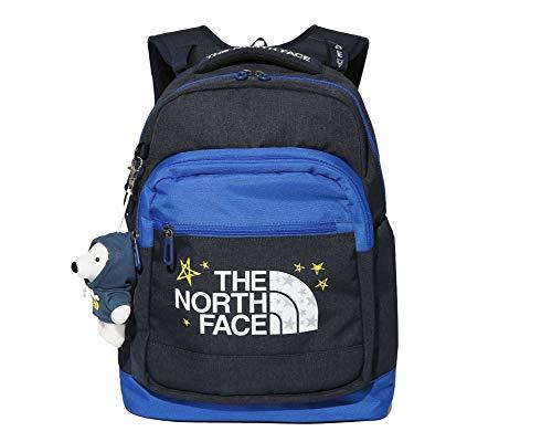 (ノースフェイス) THE NORTH FACE キッズトゥインクルスクールパック子供のバックパック新学期ギフト人形バッグ (ONE, NAVY) [並行輸入品]