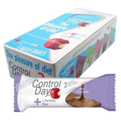 Nutrisport Barrita Chocolate Controlday Caja 24Unid - 1 unidad