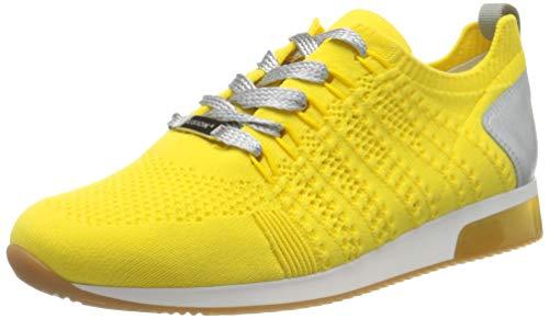 ara Damen LISSABON Sneaker, Grau (Citrus, Silber 06), 38.5 EU (5.5 UK)