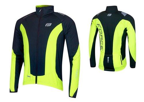 FORCE X68 bluza rowerowa czarny-fluor 89983 r.L
