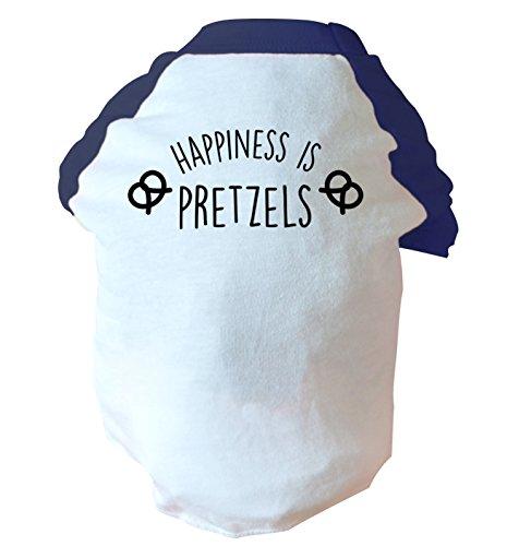 Flox Creative Happiness is Pretzels due tonalità Dog gilet rosa o blu Blue Small