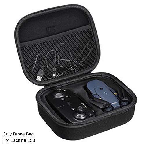 Bolsa de dron portátil con carcasa rígida de poliuretano artificial para Eachine E58