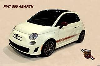 Fiat 500 Abarth Mini Poster 11X17 Master Print
