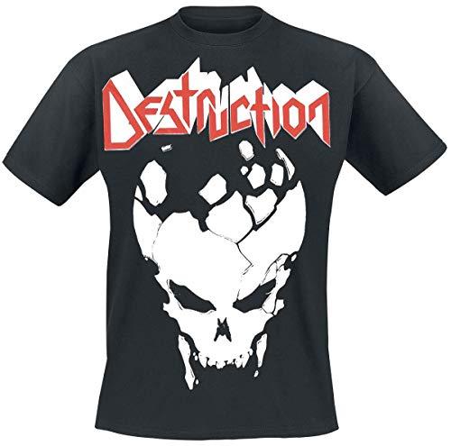 Destruction EST 84 Männer T-Shirt schwarz XXL, 100% Baumwolle, Band-Merch, Bands