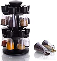 JP World Spice Rack/Jar/Container of 12 pcs for Storage of Kitchen Spices and Masala Storage (12 PC Spice Rack)