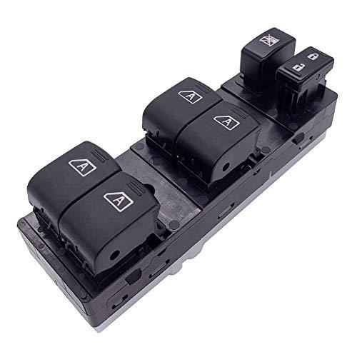 Cobeky Interruptor de ventana frontal para G35 G37 G25 Q40 / Maxima 2009-2012 25401-9N00D 254019N00D
