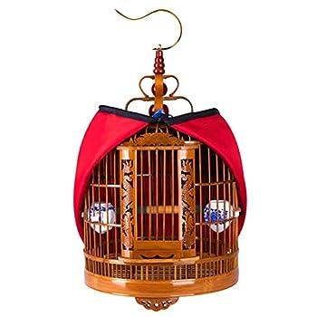 Cages À Oiseaux Tour Accessoires D'ensemble De À Oiseaux À Canaris Boutique Grande Ancienne À Oiseaux Étourneau en Bambou Bambou Sculpté À La Main À Oiseaux Creuse