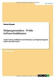 Zielgruppenanalyse - Nvidia GeForce-Grafikkarten: Nvidia GeForce Grafikkarten im Performance- und High-End-Segment (200er und 400er Serie)