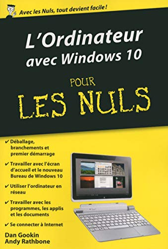 L'ordinateur édition Windows 10 pour les Nuls poche