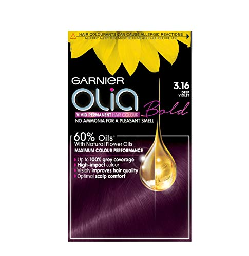 Garnier Olia Permanent Hair Colour Deep Violet - 3.16