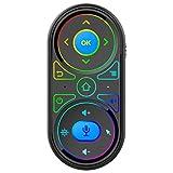 Runtodo G11 Air Mouse para Voice RGB Giroscopio Retroiluminado 2.4G Control Remoto InaláMbrico Recargable con Aprendizaje IR