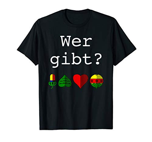 Doppelkopf Schafkopf Schnapsen Watten lustiger Spruch 002 T-Shirt