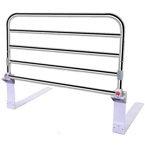 Rails de lit pour Le métal portatif réglable de Rail de Garde de lit (Taille : 90cm)