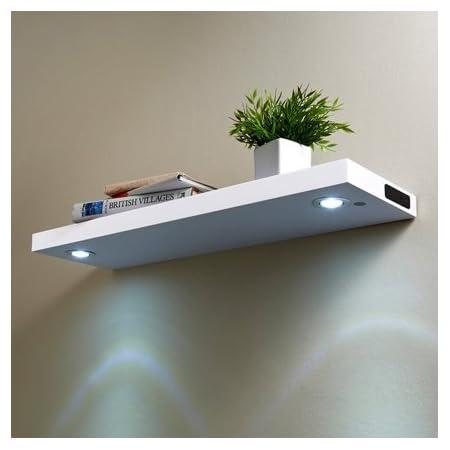 Nueva estantería flotante de pared con adornos de estante de ...
