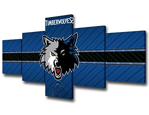 Minnesota Timberwolves NBA Framed 8x10 Photograph Team Logo and Basketball