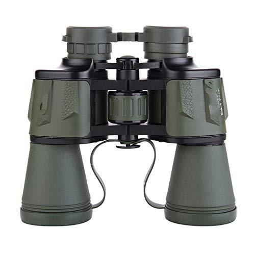 Telescopio 10X50 Zoom De Alta Magnificacin Binocular HD Potente Gran Angular ptico para Verde Al Aire Libre