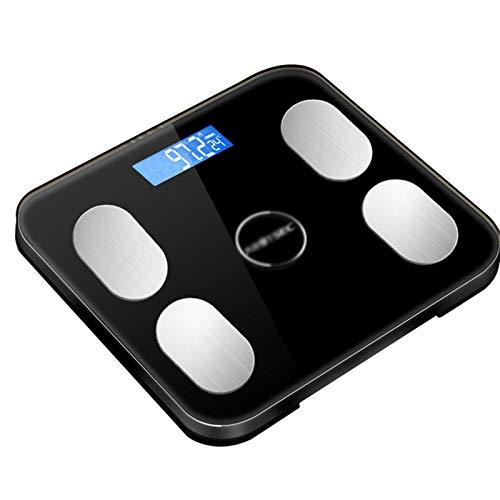 Escalas De Peso Digitales Inteligentes Escala De Grasa Corporal Bluetooth Escala De Grasa Corporal Medir Peso IMC BMR Porcentaje De Grasa Corporal Agua Corporal
