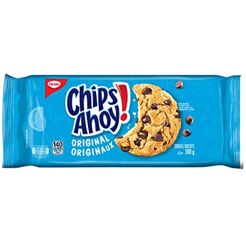 Chips Ahoy! Original Chocolate-Chip Cookies, 300g/10.6oz. (Imported from Canada)