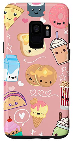 Galaxy S9 Kawaii Food Phone Case Cute Gifts for Girls Millenial Pink Case