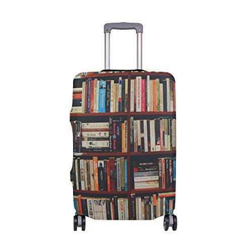 My Daily Library - Funda de equipaje para maleta, de 45 a 32 cm, color elastano