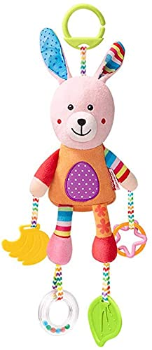 Juguetes para bebés, juguetes colgantes de animales lindos de felpa, regalos para bebés, cochecitos y cochecitos con clip, juguetes sensoriales para bebés y niñas