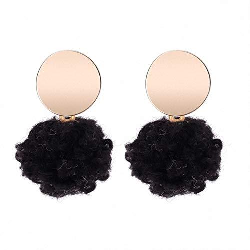 MAXIAORUI hangende oorbellen voor vrouwen van zijdedraad kwast metaal lange kroonluchter oorbellen