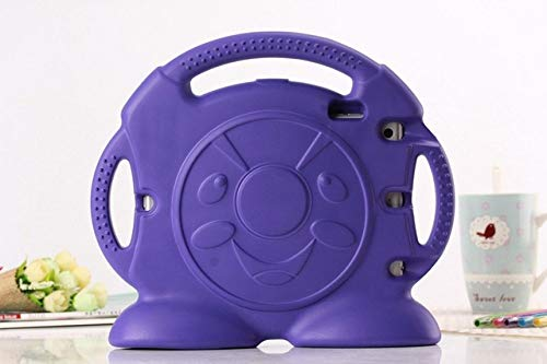 SMZNXF Tablet PC case,Cover for ipad mini 5 kids handle nontoxic protective EVA tablet PC case for Apple ipad mini 4 3 2 1 mini 2019 7.9,Purple