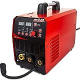 Release TIG/MMA/MIG máquina de Soldadura 3IN1-dos en uno multifunción Potente máquina de Soldadura 220V Nueva Gas/Gas sin Soldadura de la máquina MIG235