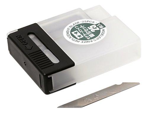 タミヤ クラフトツールシリーズ No.75 モデラーズナイフ 替刃 25枚セット プラモデル用工具 74075