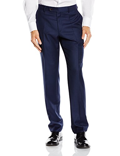Roy Robson Herren Shape Fit Anzughose, Blau (Marine 18), 28