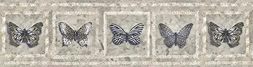 7 in 55% OFF x 15 ft Prepasted Wall Butterfly Borders Paper - Wallpaper Max 71% OFF