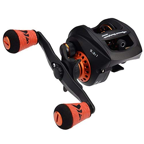 KastKing Speed Demon Pro Baitcasting Reel, High Speed 9.3:1 Gear Ratio, 12+1 Double Shielded Stainless Steel BB for Saltwater or Freshwater,Tournament Ready Magnetic Brakes, Golf Style Grips