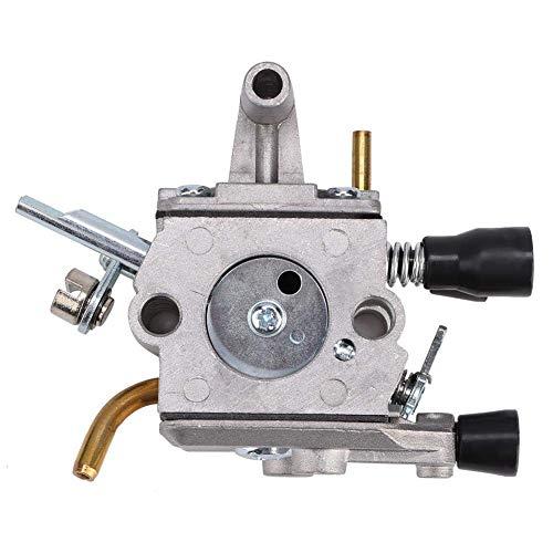 NBHUYT Carburador, Ajuste del carburador Herramienta carburador Piezas de Repuesto Carburador Cab Fit for Stihl fs120 FS 200 fs250 Trimmer Weedeater desbrozadora