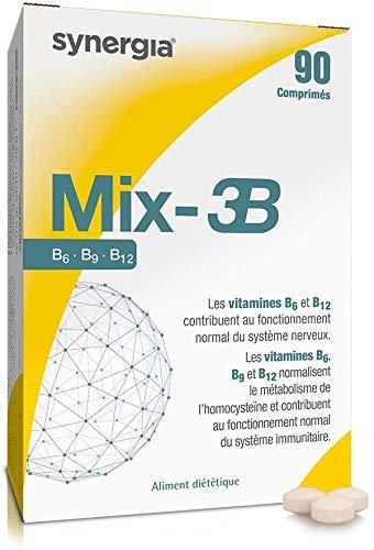 ⚡︎ Mix-3B ⚡︎ - Vitamina B (B6, B9, B12), Vitamina C, Vitamina E - Origen Francia