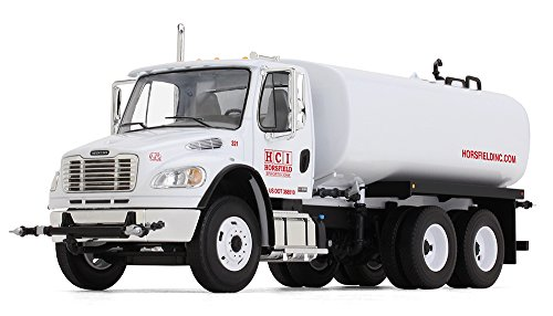 First Gear 1/34 Scale Diecast Collectible Freightliner M2-106 Water Tank Truck (10-4105)